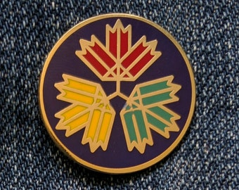 67 Leaves - HBC Colours - Hard Enamel Pin