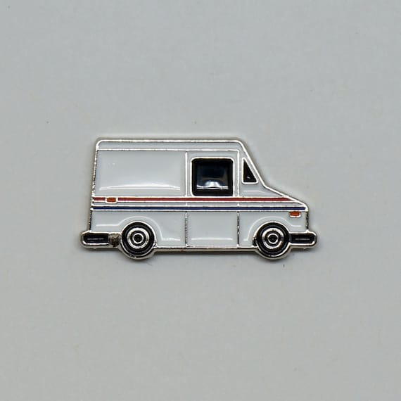 1987 Grumman LLV - USPS - Enamel Pin - BRFC Dream Cars #5a
