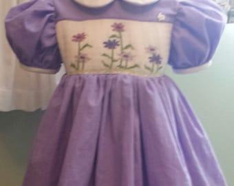 Riley's Garden smocked dress