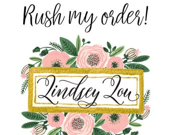Rush Order (Add-on)