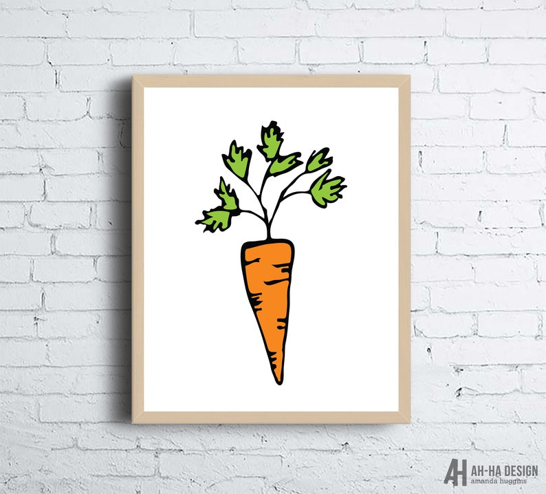 photograph regarding Carrot Printable called Carrot Case in point Printable Artwork Carrot Kitchen area Household Decor Develop Printable Wall Artwork Kitchen area Impressive Wall Artwork Carrot Printable Artwork