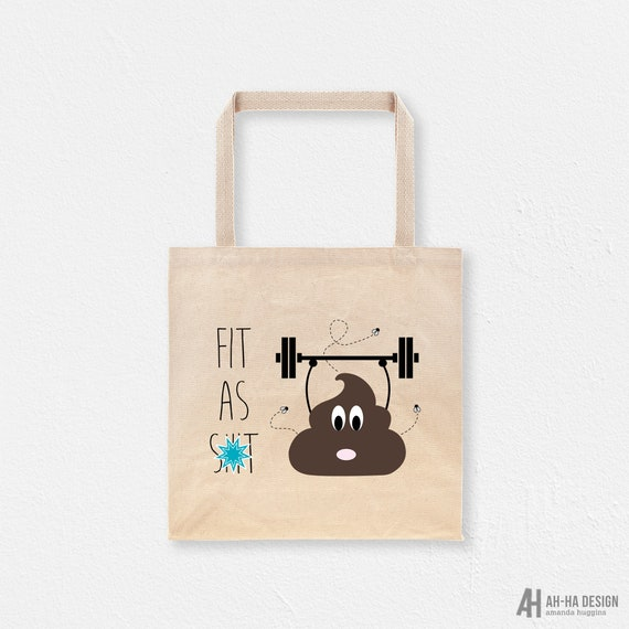Fitness Canvas Tote Bag Fitness Shopping Bag Strong Is Beautiful Canvas Tote Fitness Gym Tote Bag Reusable Tote Bag Cotton Tote