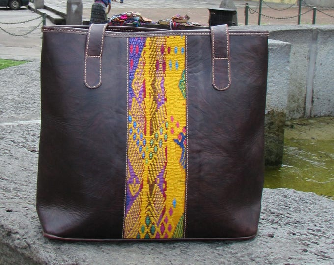Guatemalan Bag:  San Juan Sacatepequez Tote Bag