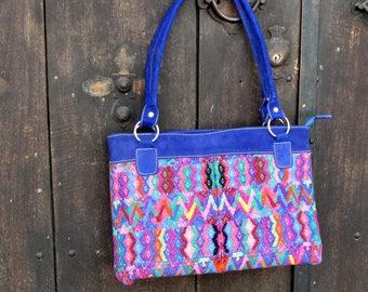 Guatemalan Bag:  San Pedro Blue