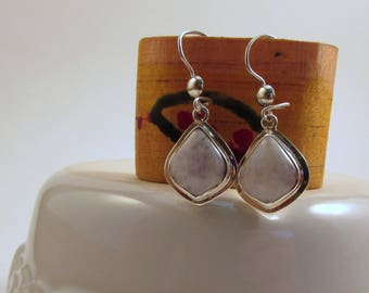 Guatemalan Lilac Jade Earrings