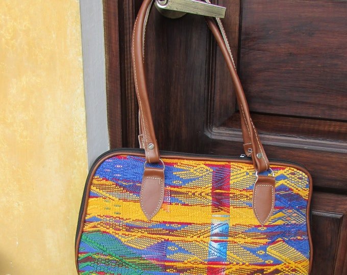 Guatemalan Bag:  San Juan Sacatepequez Hand Bag