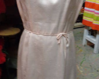 8164f3e7fa6 VINTAGE 1960 s Pale Pink Summer Dress by Saks Fifth Avenue - (available)