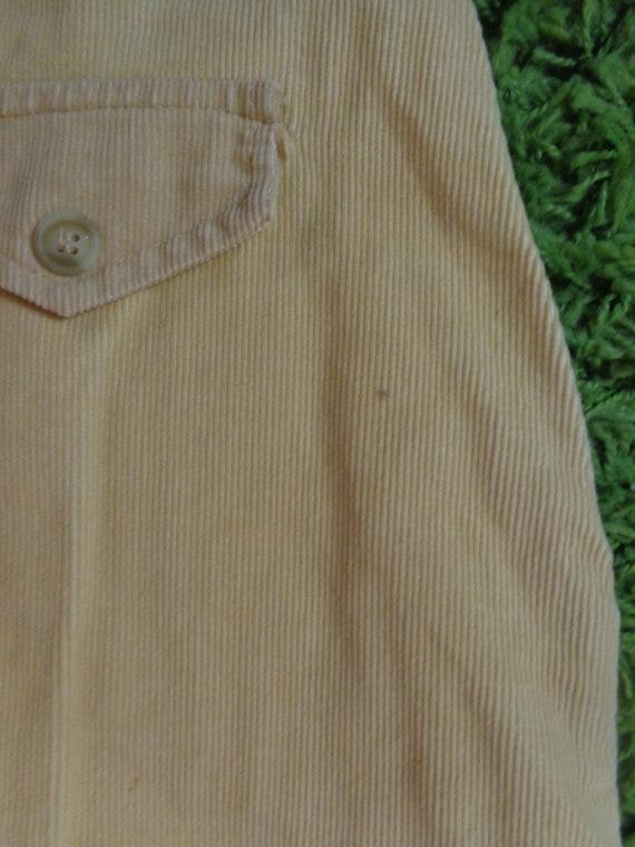 1970's Gauchos Corduroy Pants - image 6