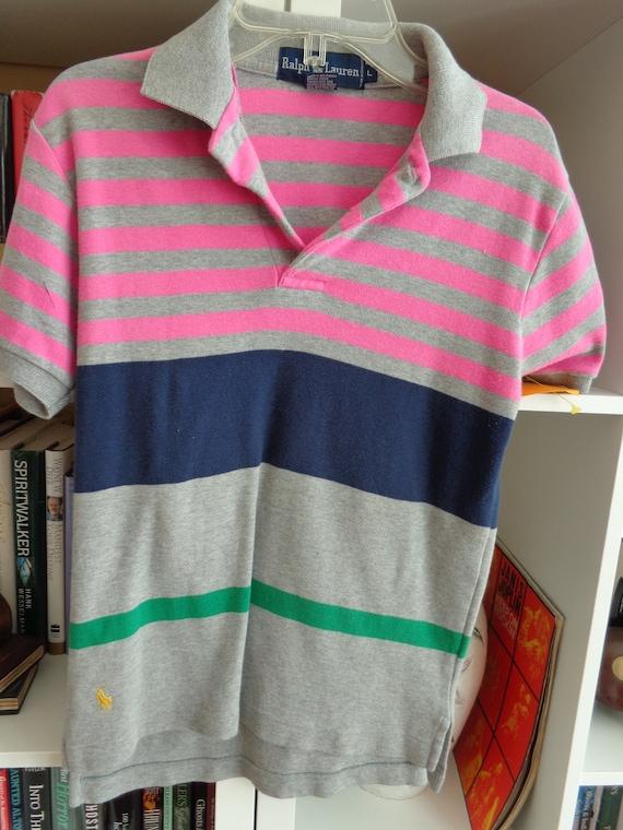 Ralph Lauren 1980's Children's Cotton Polo Shirt - image 2