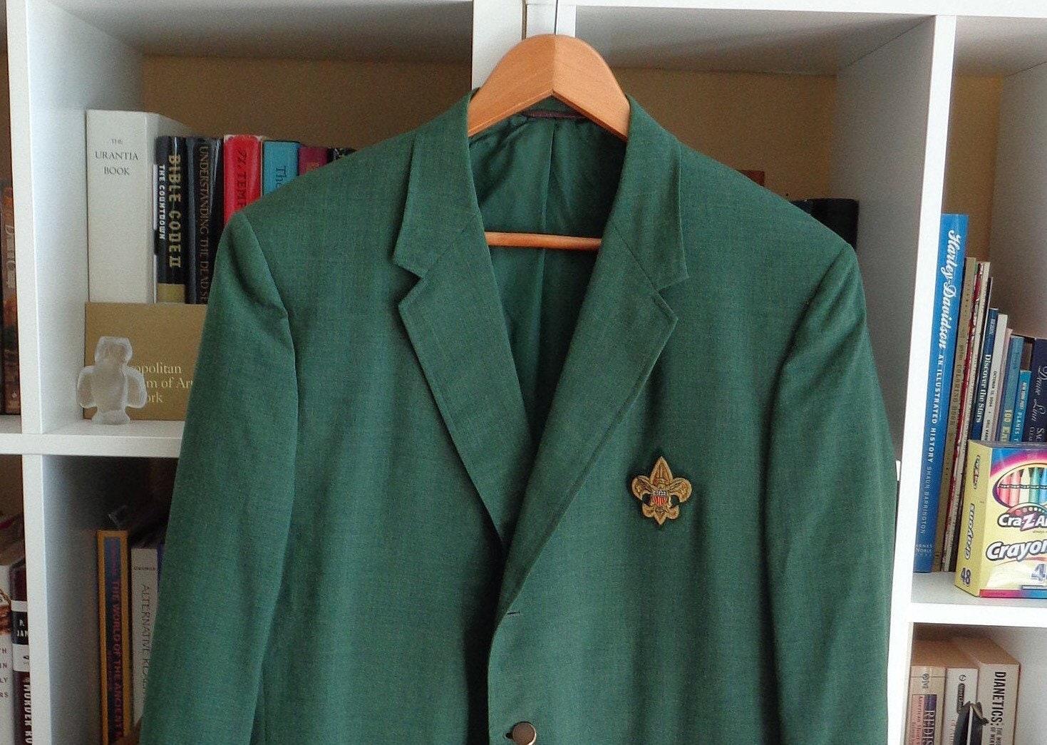 1960s – 70s Men's Ties | Skinny Ties, Slim Ties Rare Boy Scouts Of America Mens 1960s Sports Jacket By Hart Schaffner  Marx $95.00 AT vintagedancer.com