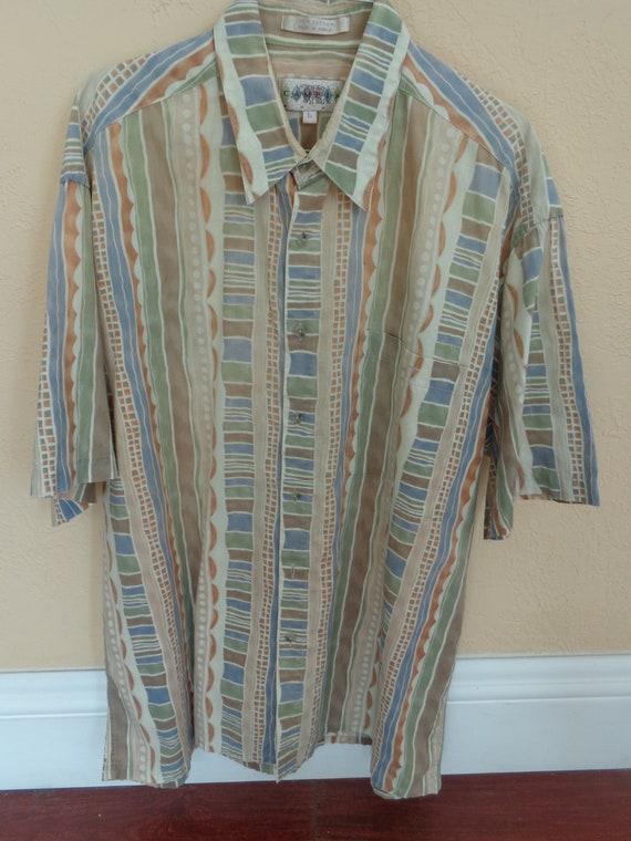 Campia 1980's Short Sleeve Shirt - image 8