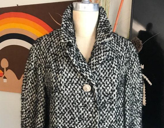 Carlson 1950s Short Wool Coat