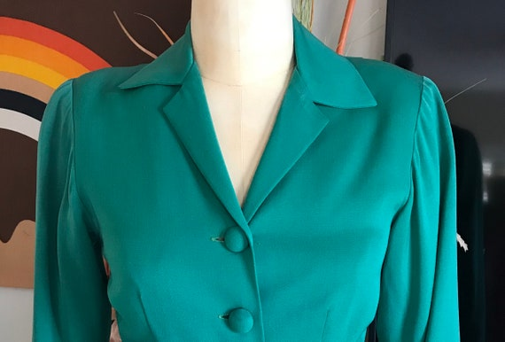 1940s Green Suit Jacket