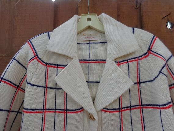 Knit Fashions 1970's Winter Coat/Sweater