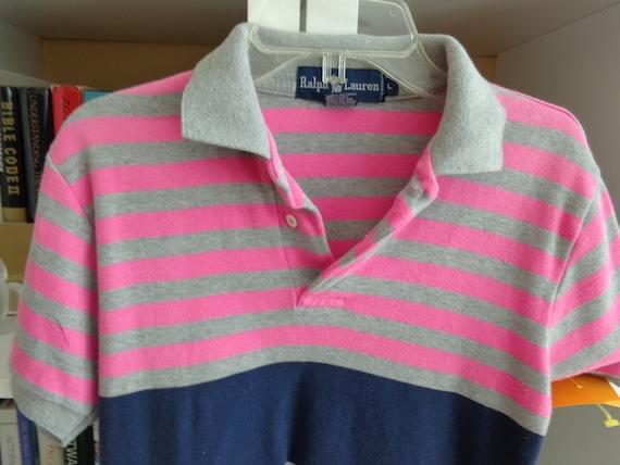 Ralph Lauren 1980's Children's Cotton Polo Shirt - image 3