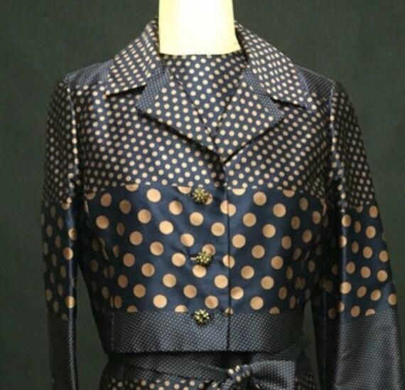 1960s TWO PIECE dress & jacket