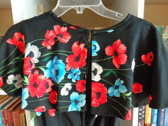 1970's Floral Print Dress Polyester - image 5