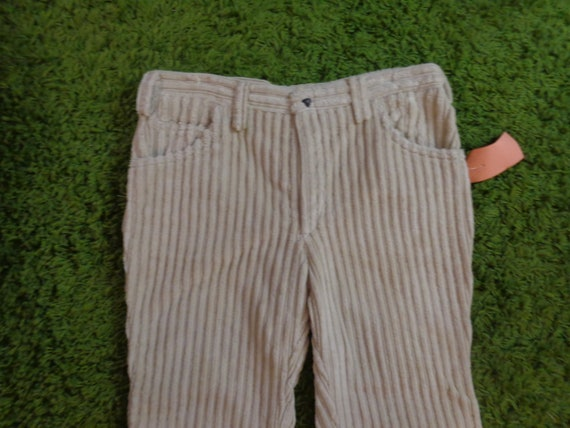 1970s Wide Corduroy Pants
