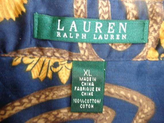 Ralph Lauren 1980's Ladies Blouse - image 6