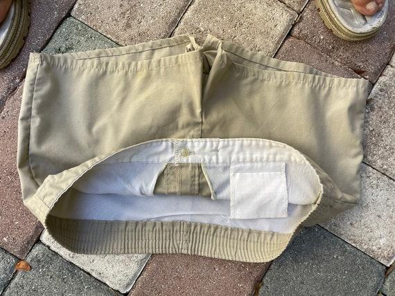 Vintage 1970's Men's Khaki Swimwear/Shorts - image 5