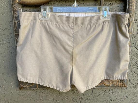 Vintage 1970's Men's Khaki Swimwear/Shorts - image 4