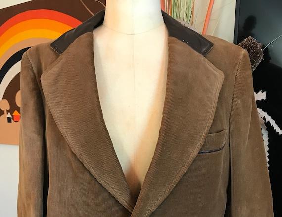 Cortefiel 1970s Corduroy Sport coat