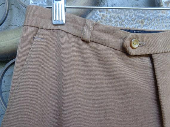 1970's Men's European Bell Bottom Disco Pants - image 4