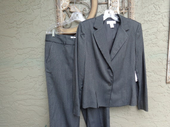 Judith Hart 1990's Petite Ladies 2 Piece Pant Suit