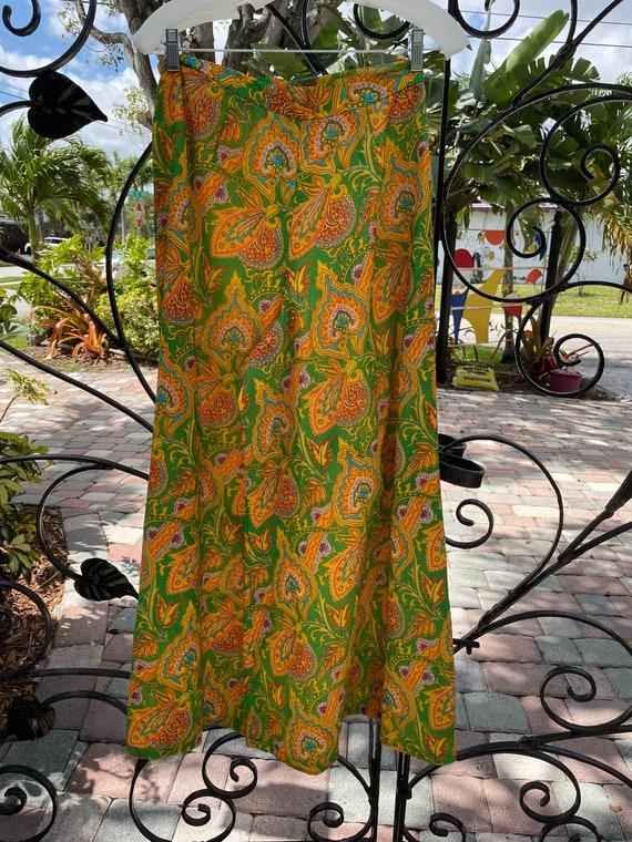 1970's Handmade Women's Palazzo Pants Outfit - image 5