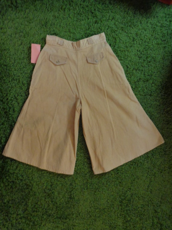 1970's Gauchos Corduroy Pants - image 2
