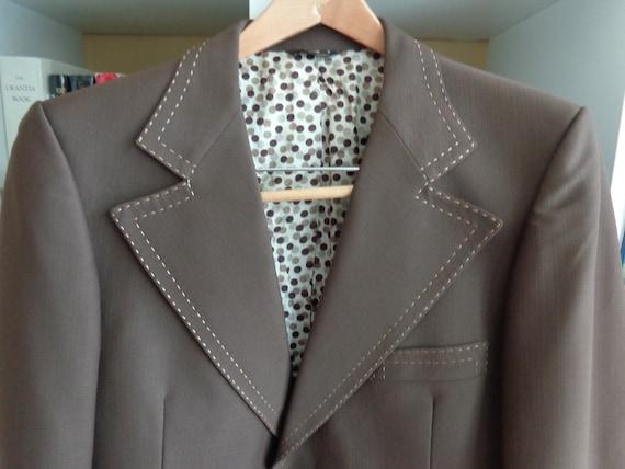 Winterton Syracuse NY Suit Men's 1970's Polyester