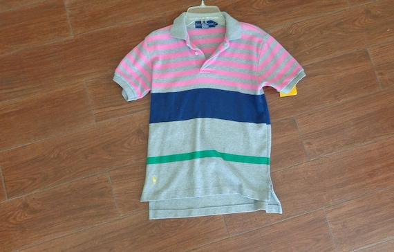Ralph Lauren 1980's Children's Cotton Polo Shirt - image 1