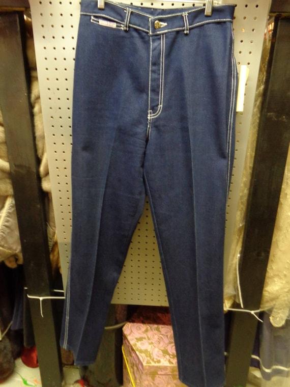 Gitano High Waisted  Denim Blue Jeans VINTAGE Late
