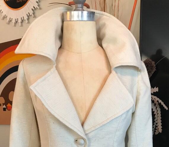 1960s Wool Opera Coat