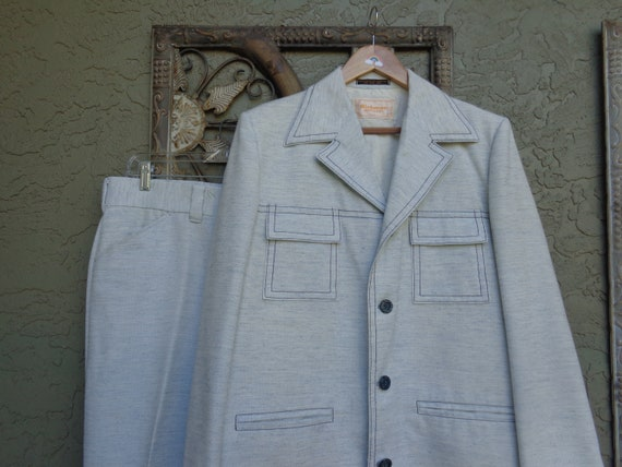 Richman Brothers 1970's Men's Leisure Suit