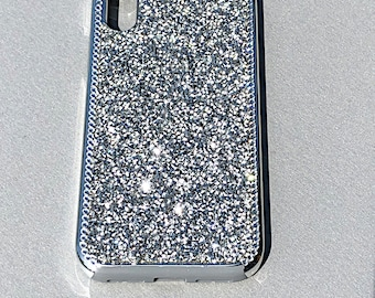 Mega Sparkle Swarovski Crystals Silver Apple iPhone 7 8 b23bb31d02