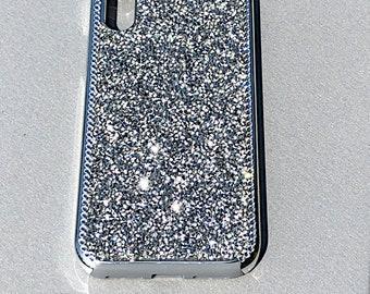 Mega Sparkle Swarovski Crystals Silver Apple iPhone 7 8 826b47834