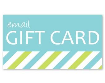 Gift Certificate eGift Cards - 50 Dollars gift card