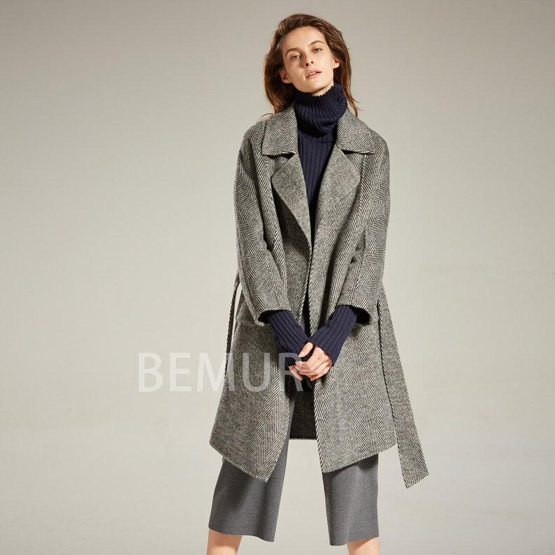 5a9721fcf3157 Wool Coat Women Winter Wrap Coat Raglan Sleeve Coat Oversize