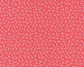Bread 'n Butter - Simple Leaf in Pink by American Jane for Moda Fabrics