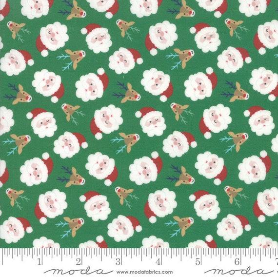 Jolly Season Reindeer Spruce by Abi Hall of Moda Fabrics Fabric Yardage 35341 13
