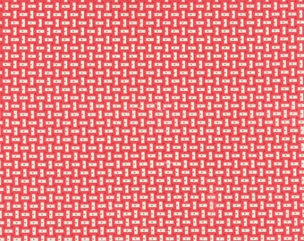 Bread 'n Butter - Rectangles in Pink by American Jane for Moda Fabrics