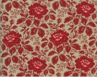 La Rose Rouge - Yolande in Roche by French General for Moda Fabrics # 13882 17