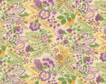 Mimi - Scarf in Cream Lavender by Chez Moi for Moda Fabrics - Last Yard