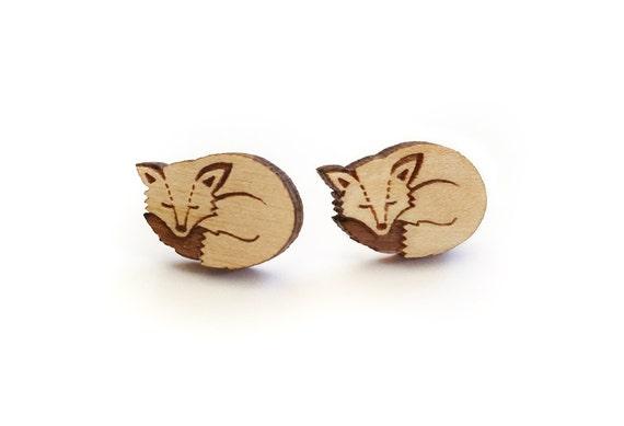 Woodland Fox Earrings