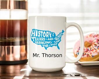 4f6815ea004 History teacher mug | Etsy