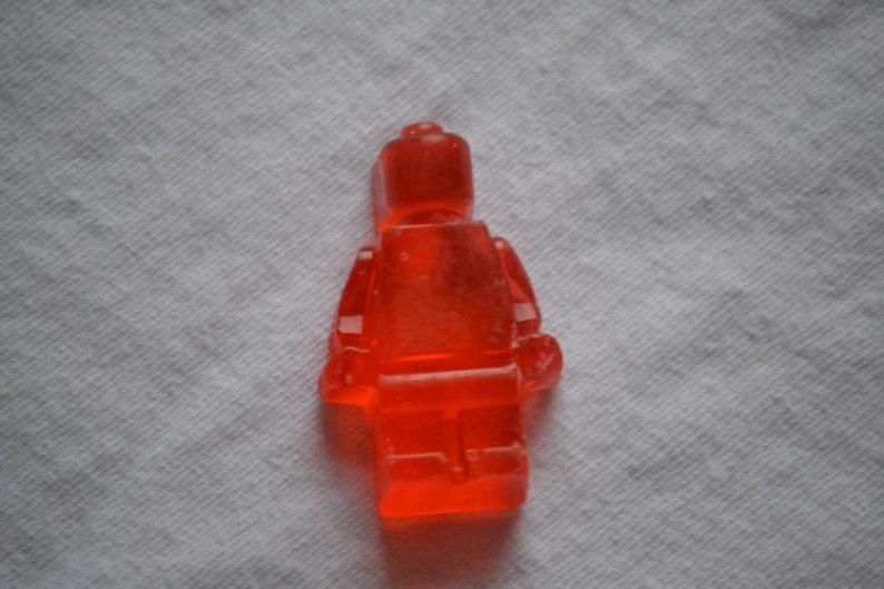 10 Lego Minifig Glycerin Soap image 0