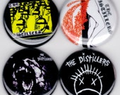 The Distillers | Sing Sing Death House Coral Fang Punk Hardcore Alternative Buttons Pins Badges Pinback