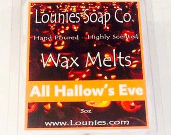 All Hallows' Eve Wax Melt