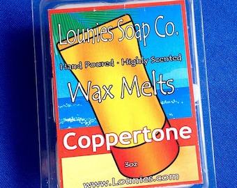 Coppertone Wax Melt